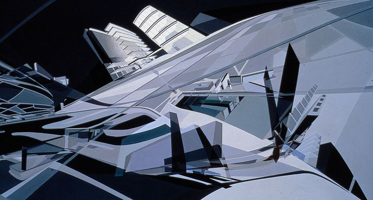 Gallery of The Creative Process of Zaha Hadid, As Revealed Through Her Paintings - 18
