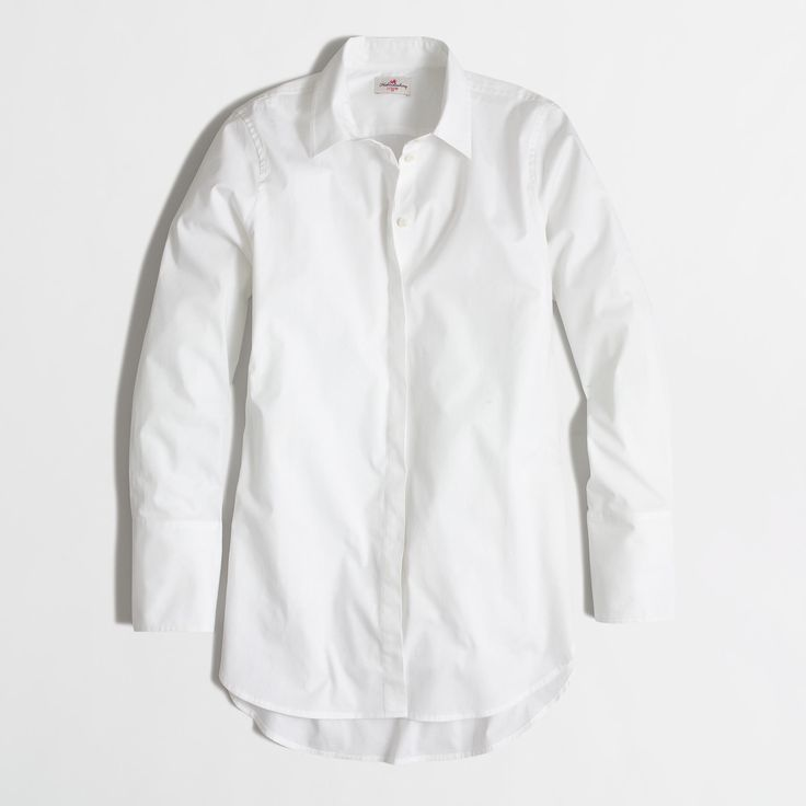 Factory petite infinity shirt : Shirts   J.Crew Factory