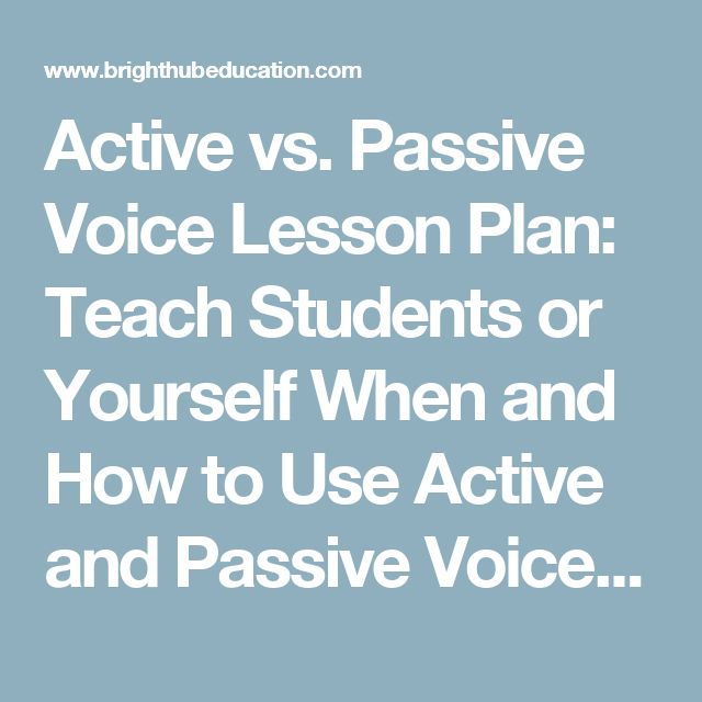 the active and passive voice english language essay Active voice and passive voice are the forms of sentences used for same meaning in active verb shows subject does action, in passive voice action is done.