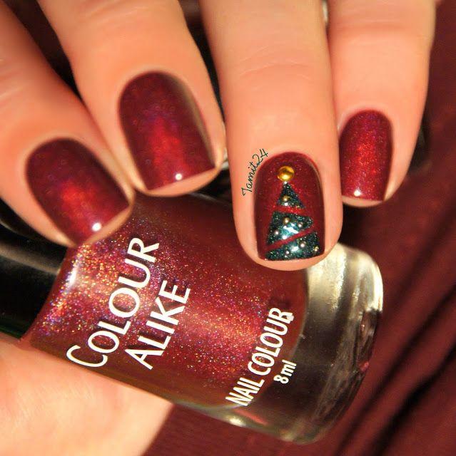 Colour Alike HOLA HOLA!: Christmas tree.
