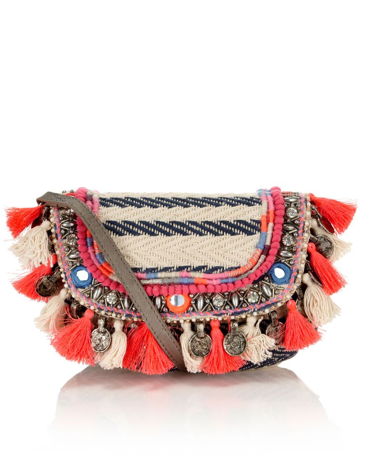 Cara Tassel Woven Stripe Across Body from @accessorizegb | Bow Street: Insta-Diary | What I've been buying this month