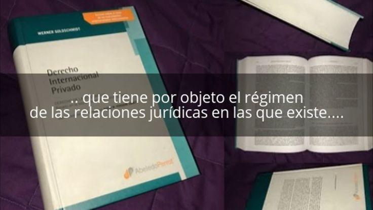 Clases de Derecho a Domicilio u online - Concepto: Derecho Internacional...