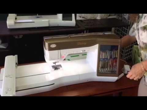 Using the camera on the Babylock Ellisimo and Destiny - YouTube