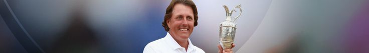 Phil Mickelson - 2014 The Open Champion - Muirfiled, Scotland
