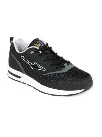 Erke Men Black Jogging Shoes | Myntra via @myntra