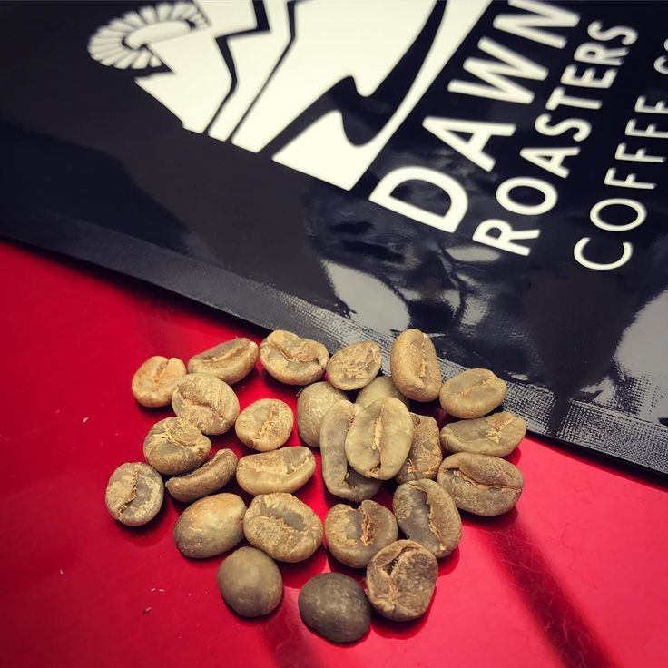 Ready to be roasted... #coffeebeans #greenbeans #dawnroasters
