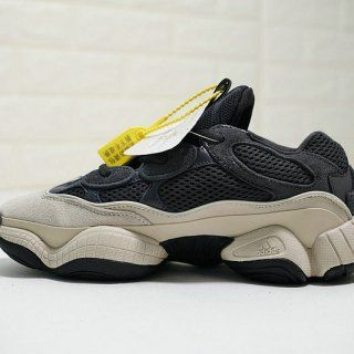 98124fed3393 Adidas Yeezy 500 Carbon black sand yellow white DB2968 Mens Womens Winter  Running Shoes
