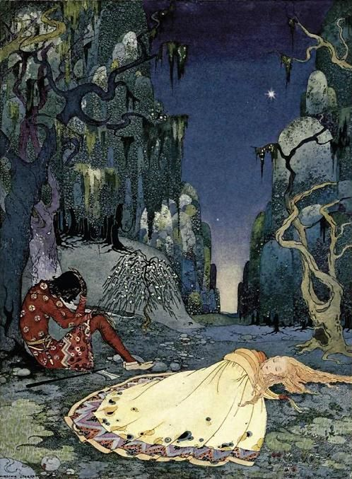 Virginia Frances Sterrett. - The Forest from Old French Fairy Tales
