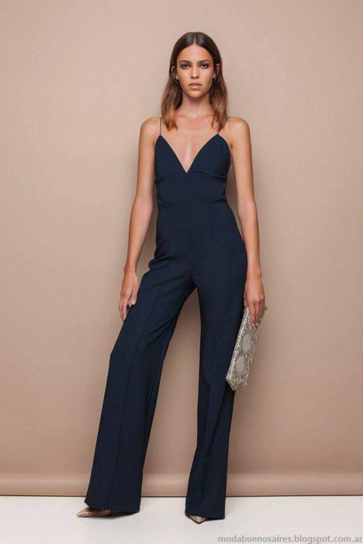 Moda - Looks de moda primavera verano 2015. Awada monos 2015.