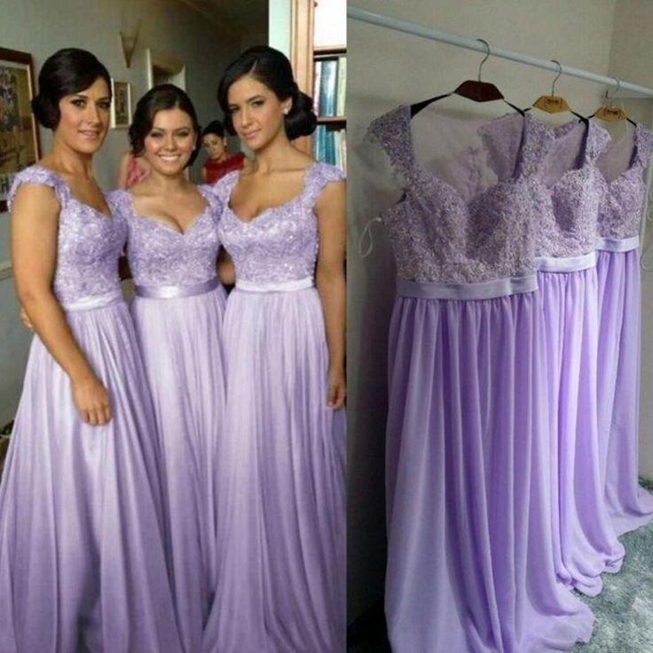 25  best ideas about Lilac bridesmaid dresses on Pinterest ...