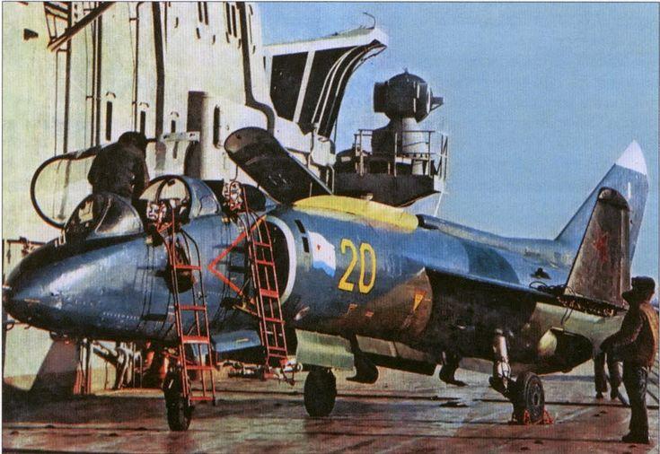 Avijacija 1:48: Yak-38U Soviet Naval Aviation