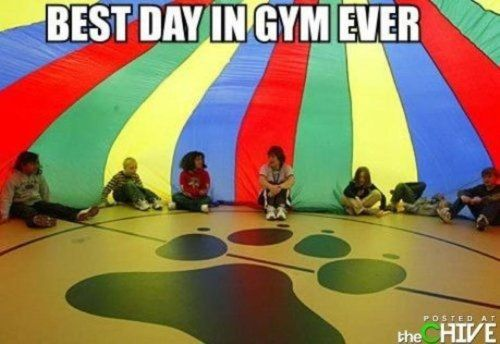 Oh, elementary schoolRemember This, Favorite Things, Parachute Games, Funny Captions, Childhood Memories, Funny Pictures, So True, Elementary Schools, True Stories