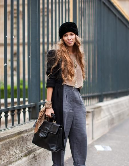 French Street Style | french+street+fashion How to Dress in French Woman Style