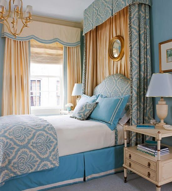 Best Ways to Use Blue in Bedroom : Color of 2014