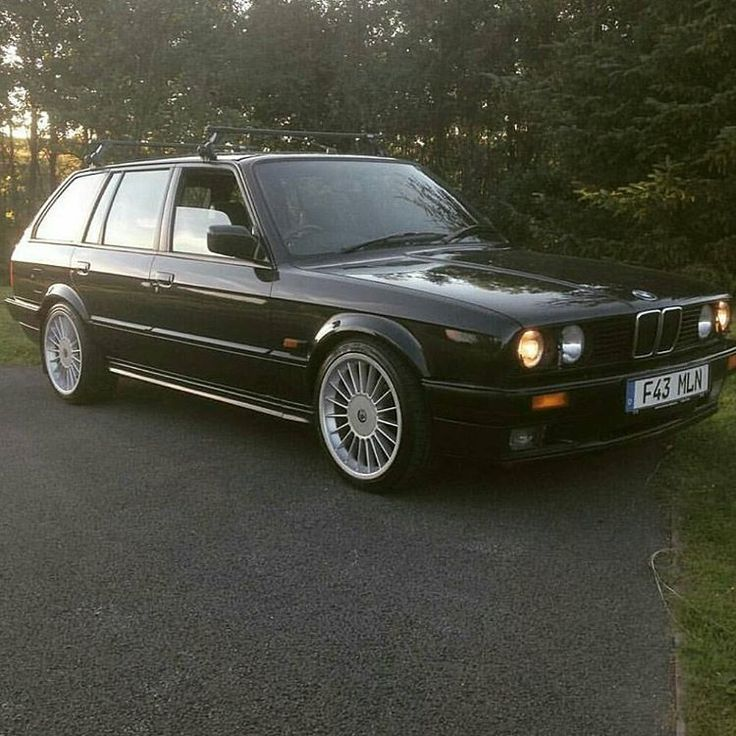 Nice BMW: BMW E30 325i Touring with Alpina rims ...my old car..such a blast and that lovel...  BMW Check more at http://24car.top/2017/2017/07/13/bmw-bmw-e30-325i-touring-with-alpina-rims-my-old-car-such-a-blast-and-that-lovel-bmw/