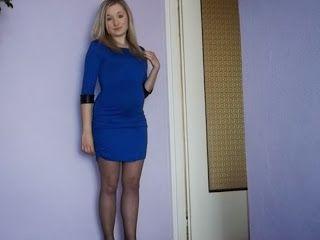 Vougelisha : Chabrowa sukienka- stylizacja