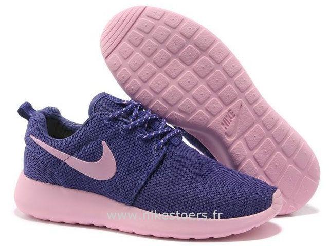 vestes salomon - Nike Roshe Run pour Femme Pourpre Rose Mesh Nike Roshe Run Noir Et ...