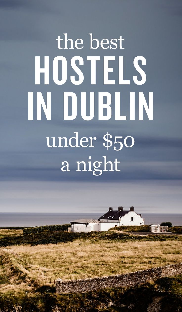 Traveling to Dublin soon? Check out our list of the best hostels in Dublin!