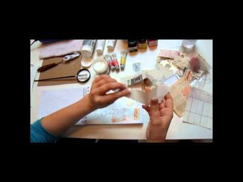 Mixed Media Tutorial (in French but you can turn the sound off) easy to follow and fun!