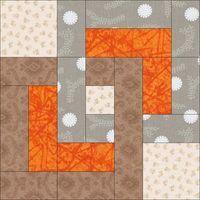Free Quilt Block Pattern: August Beginner BOM
