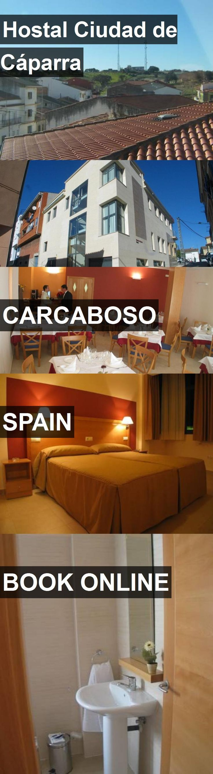 Hotel Hostal Ciudad de Cáparra in Carcaboso, Spain. For more information, photos, reviews and best prices please follow the link. #Spain #Carcaboso #hotel #travel #vacation