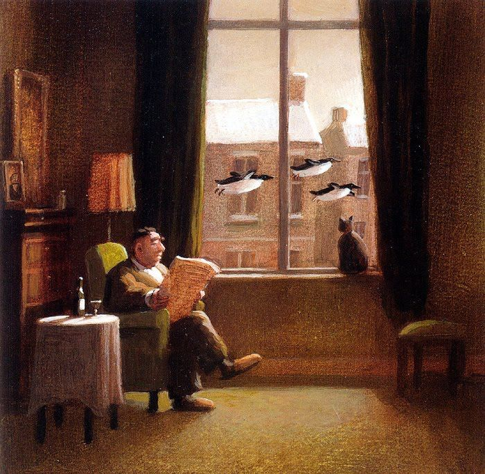 Michael Sowa German Artist ~ Blog of an Art Admirer