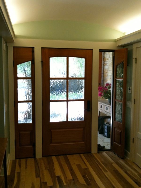 112 best images about exterior doors on pinterest wood for Exterior french doors both sides open