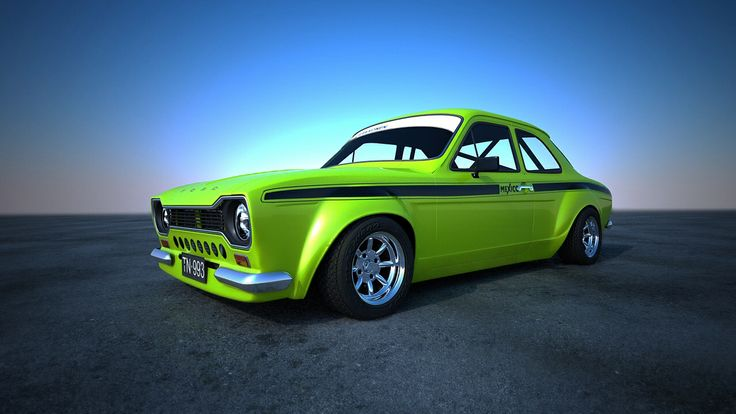 I wish I could get my hands on one of these ford escort mk1's