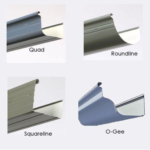 Inspiring Gutter Types 13 Fascia Gutter Profiles And Types Construction Pinterest