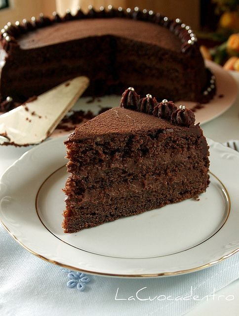 La Cuoca Dentro: Torta Rosy al cioccolato