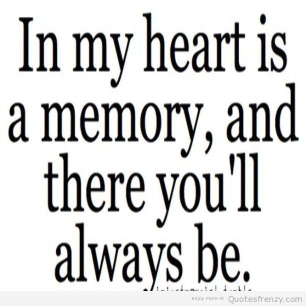 Memories Of My Love Quotes. QuotesGram
