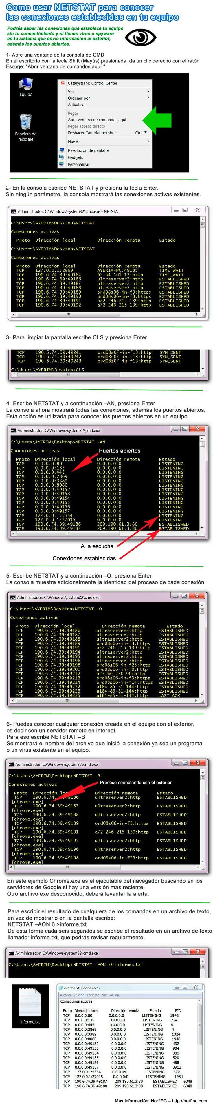 how to use netstat windows