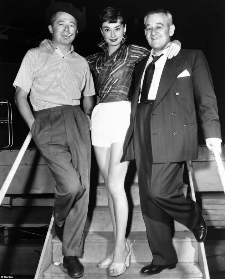 Billy Wilder-Audrey Hepburn-William Wyler