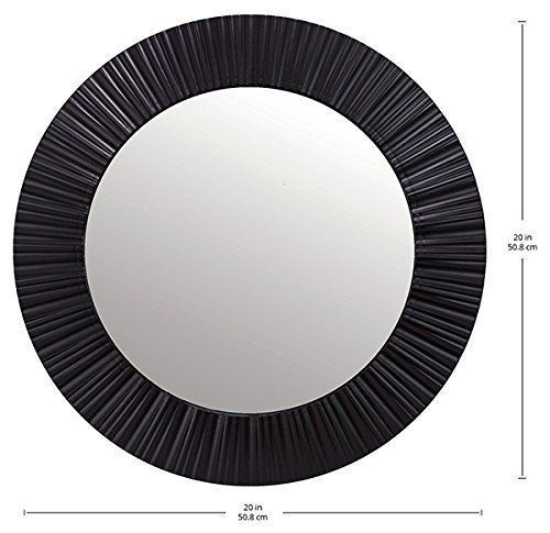 Round Black Wall Decor : Best black round mirror ideas on entrance