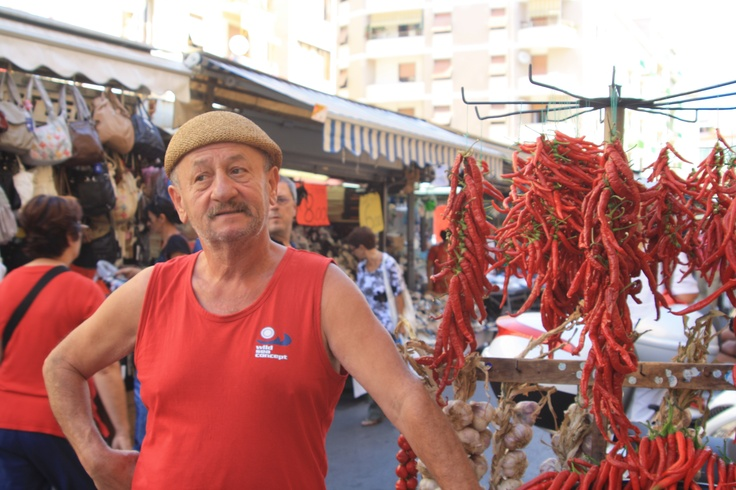 Market trader french style