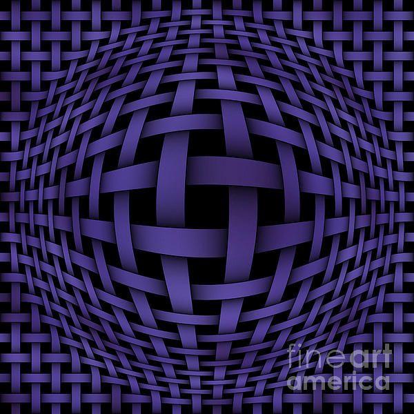 Purple PhotoArt-2 Digital Art