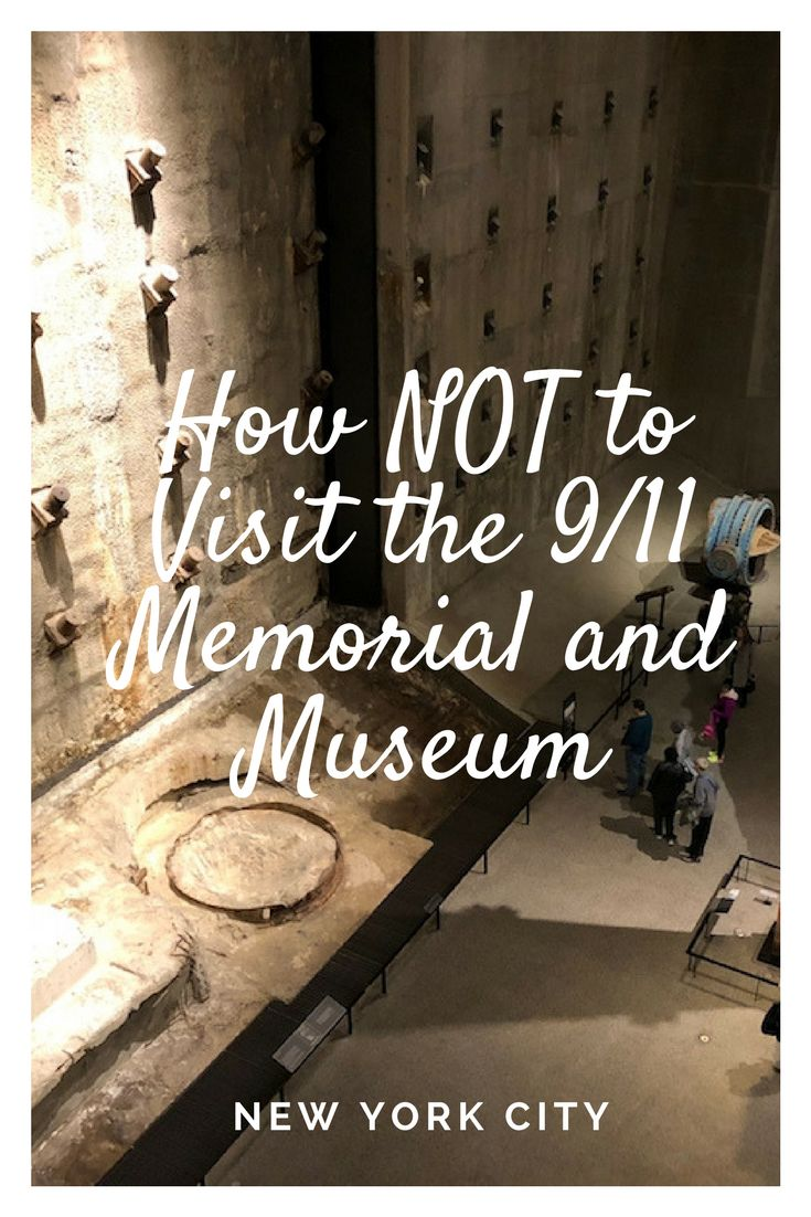 "The 9/11 Memorial and Museum's policy explicitly states that the ""use of cell phones for talking is prohibited in exhibition spaces and theater."" That means you cannot stand in the original footprint of the North Tower, a place that honors the victims of 9/11 and take a phone call. It is hallowed ground. It is sacred. You would not answer your phone while visiting a loved one's gravesite in a cemetery, would you? #NYC #TBIN #911"