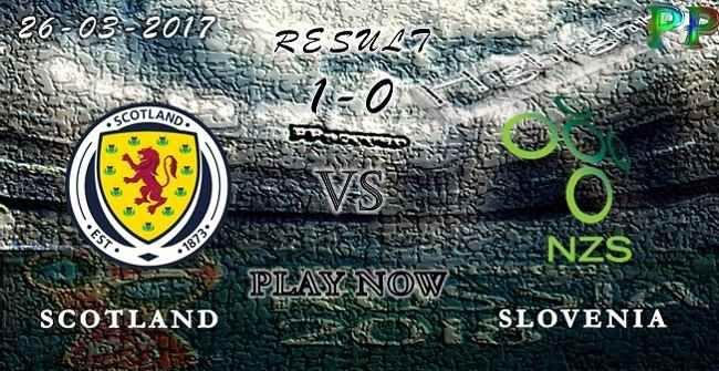 VIDEO Scotland 1 - 0 Slovenia HIGHLIGHTS 26.03.2017 | PPsoccer