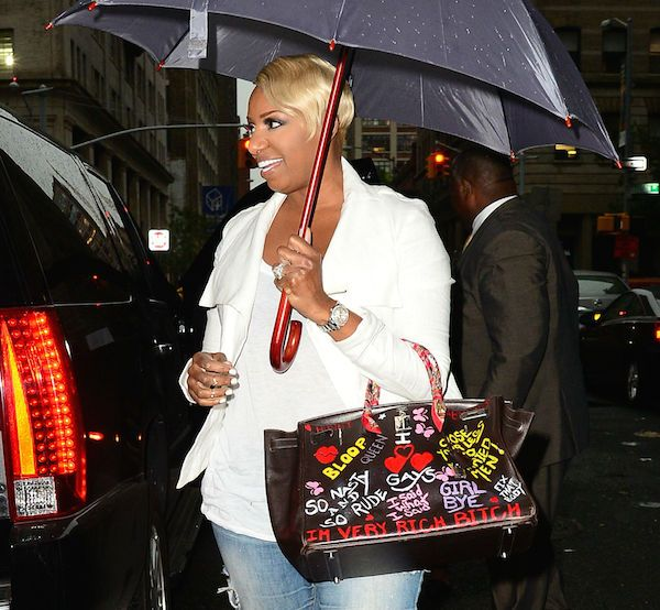 Nene Leakes's Customized Hermes Birkin Bag