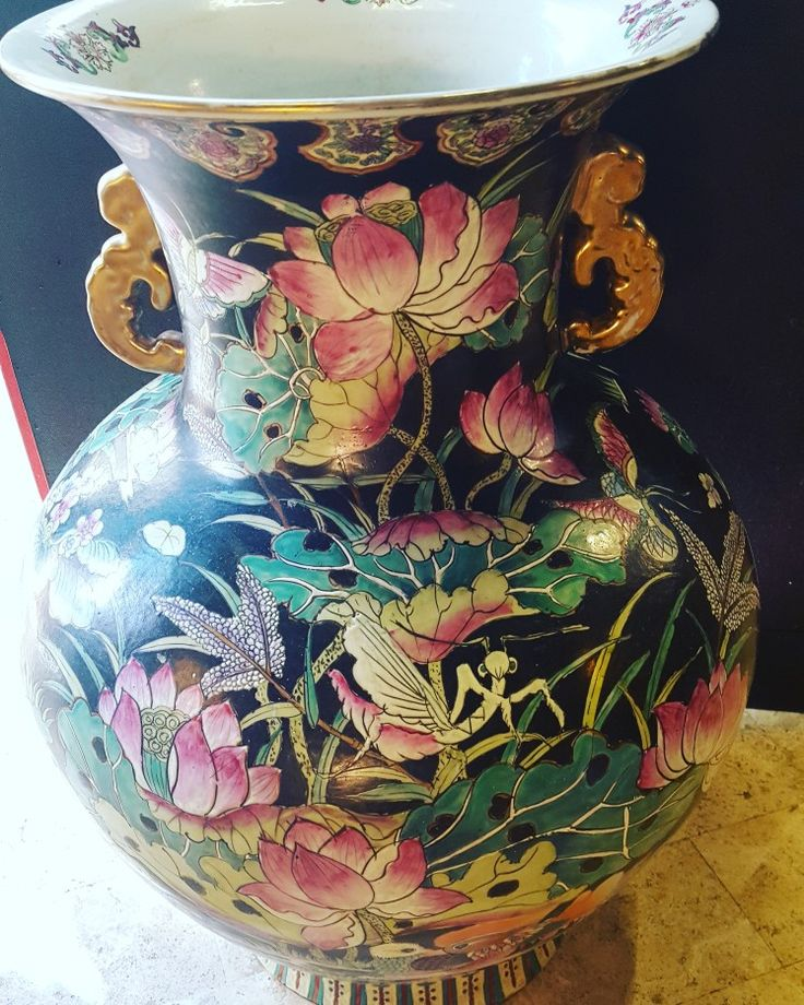 Giant black and Pink jar