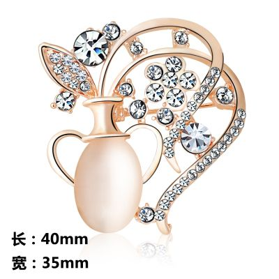 wholesale fashion jewelry Brooches Elegant Rhinestone Wedding Shawl Hijab Pins c c womens brooch Colorful Jewelry uk