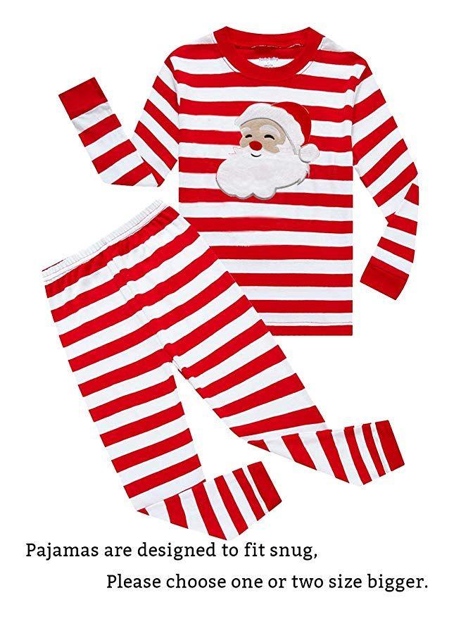 c2871fe96 Family Feeling Christmas Bear Little Boys Girls Child Pajamas Sets ...
