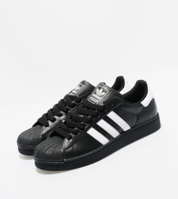 Adidas OriginalsSuperstar II- His favourites!  (and mine too! But mine are white with colorful stripes)