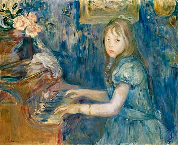Berthe Morisot, Lucie Leon at the Piano