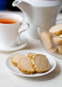 Песочное печенье с фисташками