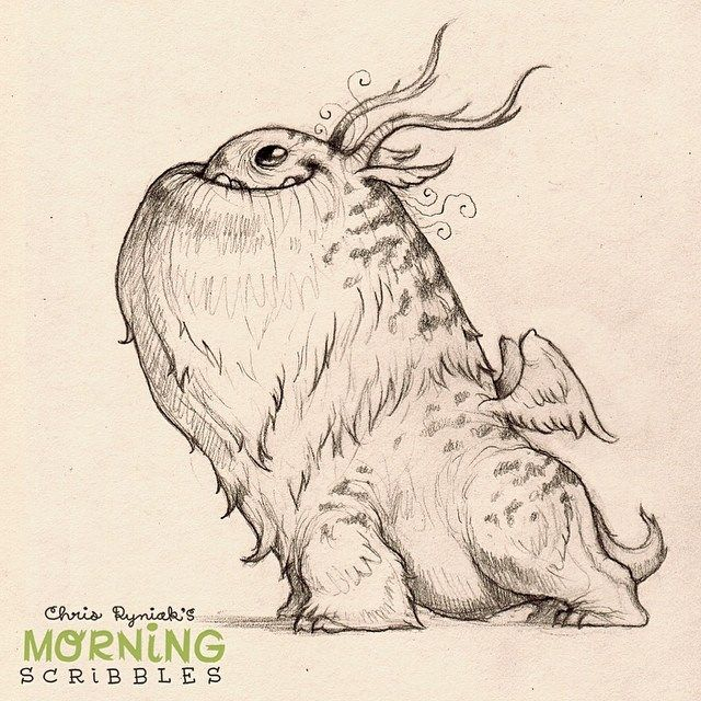 https://flic.kr/p/nBRfui | Ready for anything... #morningscribbles