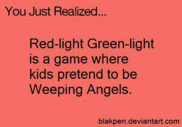 Awesome! I played this game once in 6th grade, me and my whovian friends did weeping angel poses!