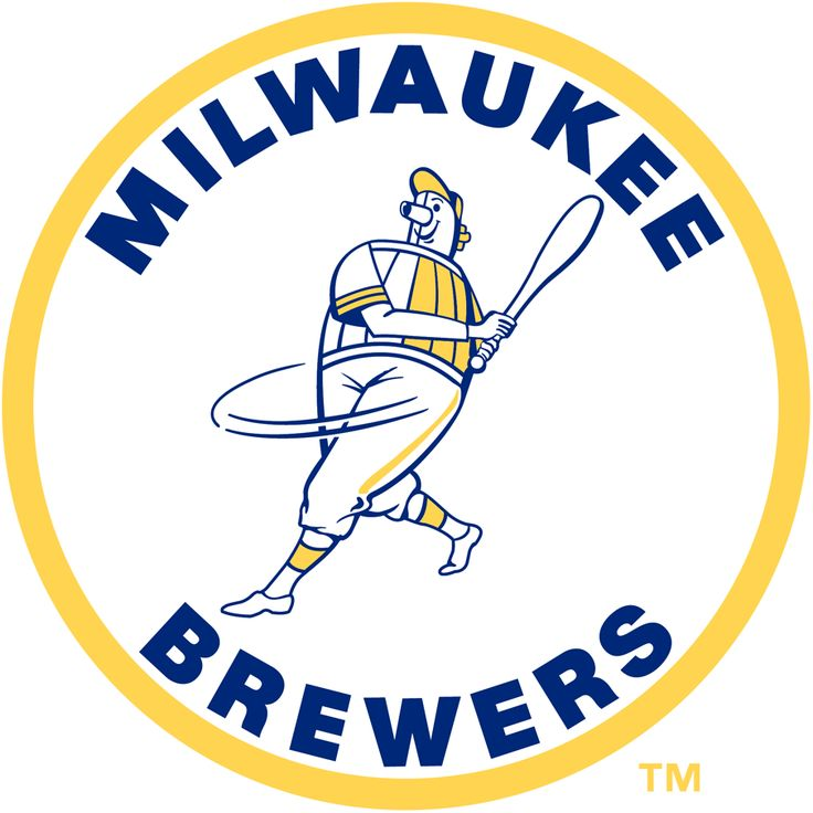 Milwaukee Brewers Primary Logo - The Beer Barrel Man Logo - 1970-1977