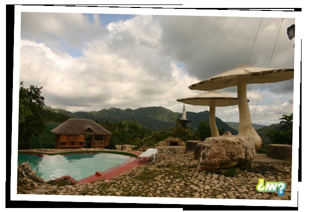 Located in 3 hours from cebu city proper on the mountain for Pool garden mountain resort argao