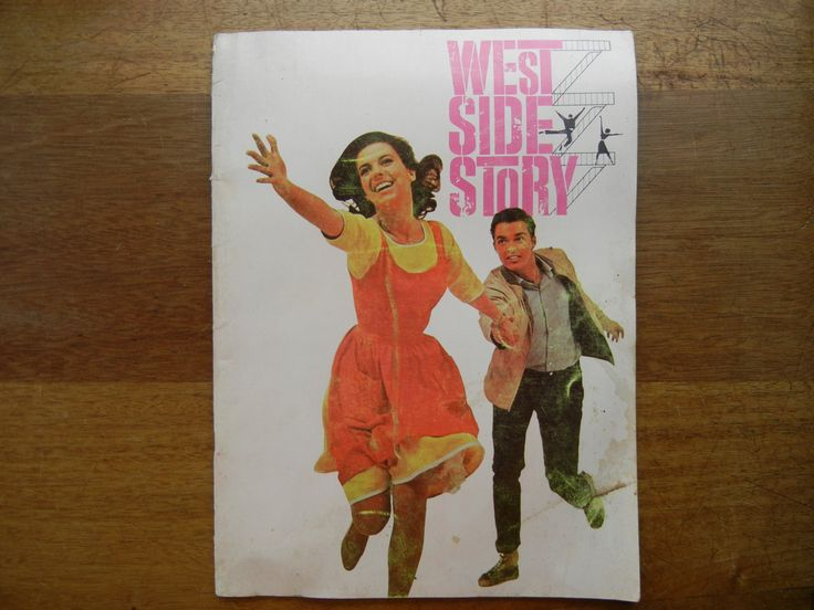 West Side Story Movie Souvenir Book 1961 by ThomasCollectibles on Etsy ~SOLD~